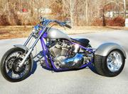 2004 CUSTOM 3 WHEELER CHOPPER STREET HOT ROD